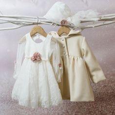 Φόρεμα βάπτισης Bambolino Olympia, annassecret, Χειροποιητες μπομπονιερες γαμου, Χειροποιητες μπομπονιερες βαπτισης Buy Shoes, Christening, Winter Outfits, Winter Clothes, Pink Flowers, Tulle, Flower Girl Dresses, Wedding Dresses, Coat