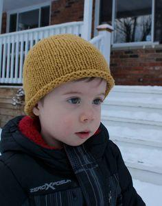 Toddler Knit Hat