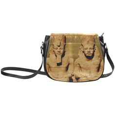 Temple of Sun Classic Saddle Bag/Large. FREE Shipping. #artsadd #bags #egypt