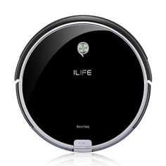 Amazon.com - ILIFE A6 Robotic Vacuum Cleaner Ultra Slim with Electrowall Stair Barrier, Super Quiet -
