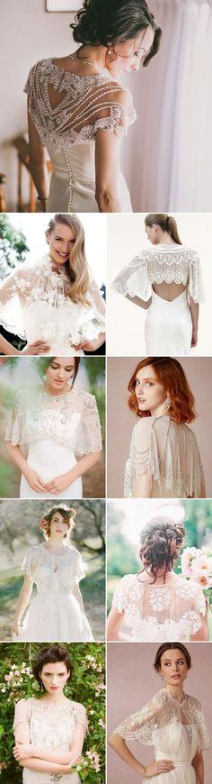 Fall Wedding Fashion Trend – 22 Chic Bridal Cover-Ups!