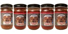 #Casa #De #Jorge #Salsa #Popular #Picks 5(12oz) #Gourmet #Salsa #Gift #Set Roasted Garlic & Olives Salsa: 4 kinds of garlic, Green & Black Olives Chipotle Hot' Salsa: Nice and smokey with a slight kick Mango Salsa: Chunks of mango sweetened with Organic Agave Nectar https://food.boutiquecloset.com/product/casa-de-jorge-salsa-popular-picks-512oz-gourmet-salsa-gift-set/