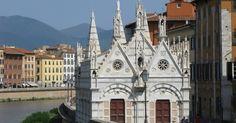 Santa Maria della Spina em Pisa #viajar #viagem #itália #italy