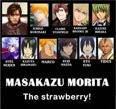 Baccano!Bakuman,Higashi no Eden,Mobile Suit Gundam SEED Densetsu,ONE PIECE,TIGER & BUNNY,Final Fantasy X,BLEACH,Sengoku Basara,La Corda d'Oro, By Masakazu Morita