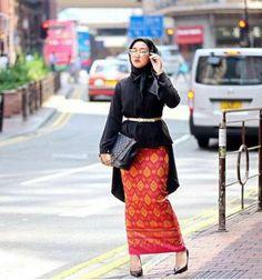 Model Baju Batik Muslim Modis dan Modern
