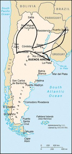 Recommended Travel Itineraries for Argentina | Brendan's Adventures