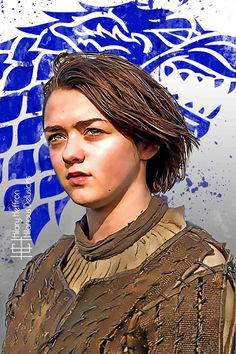 Arya Stark | Game of Thrones - by Hilary Heffron, Hilarious Delusions