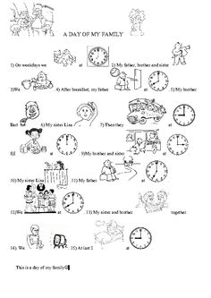 My Daily Routines Daily Routine Worksheet Daily Routine Routine