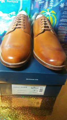 70b6887c040 Cole Haan Williams Plain Toe British Tan Oxford Mens Dress Shoes Size 9M  C12204  ColeHaan
