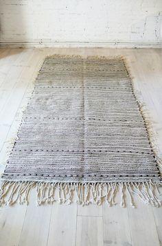 Vintage Beni Ouarain Handira - Moroccan Wedding Blanket