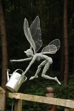 Outdoor metal faery
