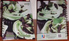 LABOR VIVA | Menta y Chocolate Agenda personalizada 2015 Chocolate, Cabbage, Vegetables, Food, Mint, Day Planners, Schokolade, Veggie Food, Cabbages