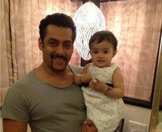 Bollywood @ 8 megapixels - Salman Khan with baby doll.