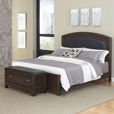Crescent Hill Panel 2 Piece Bedroom Set