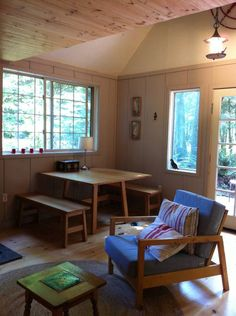 Check out this awesome listing on Airbnb: Forest Cabin + Private Beach - Cabins for Rent in Camano Island