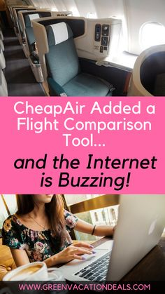 CheapAir Added a Flight Comparison Tool & the Internet is Buzzing! How to find the best & cheapest flights | Flight Hacks | Cheap Flight Tips | How to Get the Cheapest Flights | Best Flight Deals | Travel Hacks | Cheap Flight Deals #Flight #Airlines #CheapAirlineTickets #ChooseaFlight #FlightDeal #Flying #Travel #TravelTips #FlightHacks #FlightAdvice #FlightTips #OnlineBooking #CheapAir #Internet