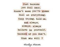 Always Believe in Yourself Quote