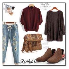 """""""Romwe L-4"""" by azra-90 ❤ liked on Polyvore featuring Bandana, Christian Dior and WALL"""