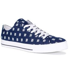 Detroit Tigers Row One Men's Victory Sneakers