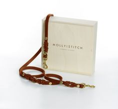 "The Sahara Butter"" adjustable dog leash from Molly & Stitch is made in Austria with love and passion. While combining exquisite style with the highest quality, the cognac brown soft leather steals the show. Dog Leash, Soft Leather, Butter, Stitch, Brown, Dogs, Products, Style, Smooth Skin"