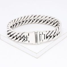 Elton Sterling Silver Bracelet by Equalli