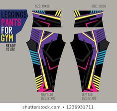 Vector de stock (libre de regalías) sobre Leggings Pants Gymready Use Moldsport Vector1438245542 Sport Wear, Leggings Are Not Pants, Sports Women, Yoga Pants, Wetsuit, Fit Women, Sport Design, Gym, Printing