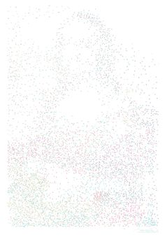Most complicated dot-do-dot. Print in big poster size. Mona Lisa - 6,239 dot to dot drawing on Behance