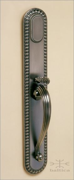 Cranwell thumblatch handcrafted in Europe by the master artisans of Baltica Hardware. shown in antique bronze. available in a wide range of elegant finishes. www.baltica.com  www.balticacustomhardware.com