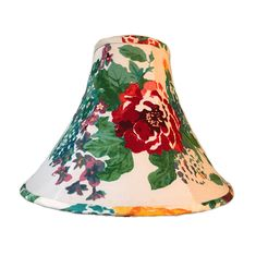 Floral Lamp Shade, Rose Lamp Shade, Cottage Print Lamp Shade, Country Print Lamp Shade, FREE SHIPPING - Continental US