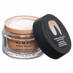 Almay Smart Shade Mousse Makeup 100 light - great lightweight foundation that automatically matches your skin tone and evens everything out!