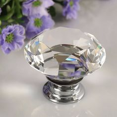 90.99$  Watch here - http://alik95.shopchina.info/go.php?t=32709407757 - UNILOCKS 100Pcs 30mm K9 Crystal Glass Diamond Furniture Handles  Drawer Wardrobe Kitchen Cabinets Cupboard Door Pull Knobs  #buymethat