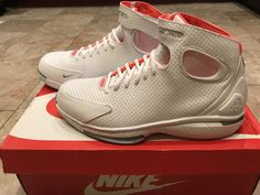 a9384361396e Nike Air Zoom Huarache 2K4 Kobe Men s Basketball Shoes 308475-102 Size 11.5  Rare