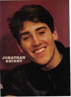 Jonathan, smiling with his eyes