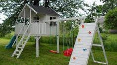 Znalezione obrazy dla zapytania ciekawe dziecięce domki ogrodowe