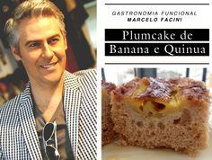 Plumcake de banana e quinua