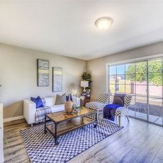 Check out this living room we finished! We love the natural lighting coming in! Flip Or Flop, Hgtv, Home Renovation, Kitchen Remodel, Construction, Windows, It Is Finished, Living Room, Lighting
