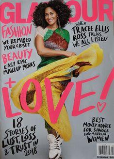 Celebrity Magazines, Tracee Ellis Ross, Cool Magazine, Black Magazine, Glamour Magazine, Married Woman, Black Girls Rock, Jennifer Fisher, Simple Makeup