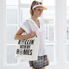 ROLLIN WITH MY HOMIES BAG - Hey! Holla £16 #clueless #homies #gymbag #gym #spinning #cycling