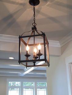 Modern craftsman hall fixture. Kristina Bianchetta, Realtor. 571-388-3138. www.SoldontheSilverLine.com #Arlington #homes #luxury #realestate