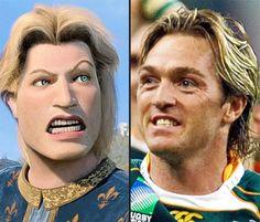 Rugby lookalikes