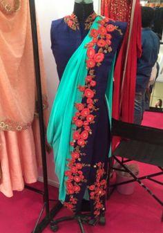A&S calcutta Dhoti Saree, Saree Blouse, Lehenga, Sari, Indian Salwar Suit, Salwar Suits, Salwar Kameez, Ethnic Fashion, Dress Patterns