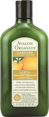 Avalon Organics Clarifying Conditioner Lemon 11 fl oz Pack of 1 by Avalon >>> To view further for this item, visit the image link. Shampoo Alternative, Avalon Organics, Organic Formula, Natural Highlights, Organic Brand, Organic Shampoo, Lemon Essential Oils, Hair Conditioner, Beauty Care