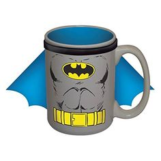 Batman Caped 15 oz Coffee Mug Drink Ceramic DC Comics Forever Dark Knight @ niftywarehouse.com #NiftyWarehouse #Batman #DC #Comics #ComicBooks