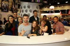 #TheOriginals cast and producers at Comic-Con® 2015! #CWSDCC