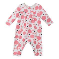 Graphic Pink Dot Pajamas