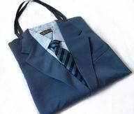 purse made of a suit and tie - Google Search