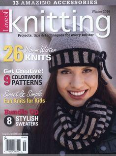 Love of Knitting - Winter 2014 冬 - 紫苏 - 紫苏的博客
