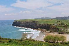 Playa de Luaña Cóbreces Cantabria Cantabriarural