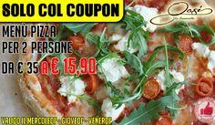 Agriturismo Oasi Le Fontanelle | Menù Pizza Per 2 Persone http://affariok.blogspot.it/