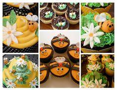 Bee Cupcake designs